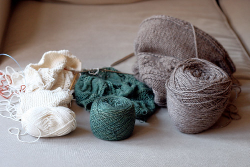 my three knits