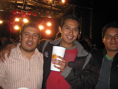 Despues del concierto de Bunbury en Tlaxcala