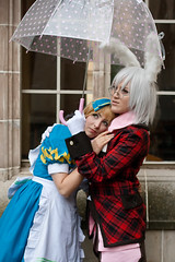 (yeshayden) Tags: umbrella cosplay aliceliddell peterwhite cielrose heartnokuninoalice clamwings aliceinthecountryofhearts