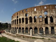 the colosseum (nur hanis abdullah) Tags: italy rome roma architecture buildings italia colosseum coloseo