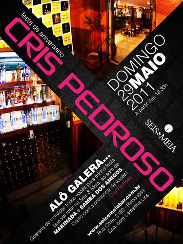 Convite Aniversário - Cris by chambe.com.br