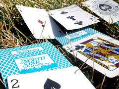 1/365 The pleasure is to play. (jessica_smith) Tags: grass jack cards ace luck 365 spades solitaire