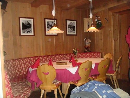Rincón del salón comedor