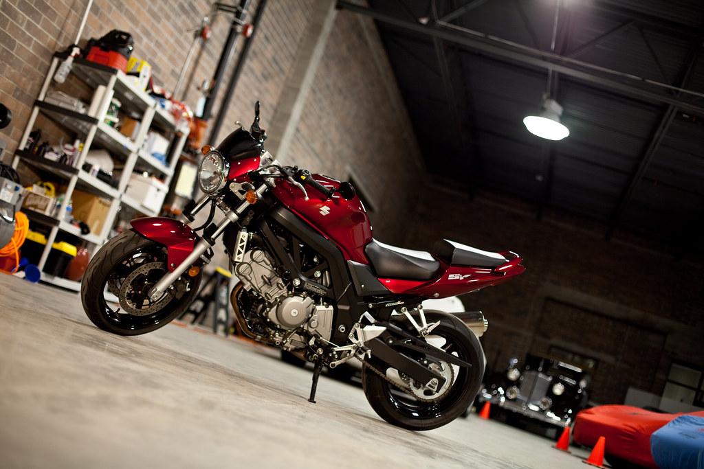 I want 2 Double Head Light on SV?? - Sportbikes.net