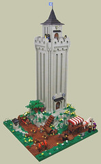 Black Falcon's Watchtower (S.L.Y) Tags: castle lego watchtower wolfpack blackfalcons