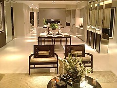 Seascape Gallery - living hall & Kitchen