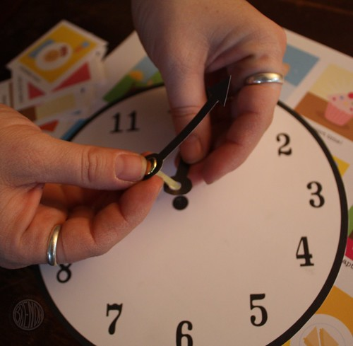 assembling the clock