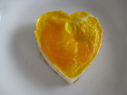 Heart Shape Egg