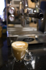 Ready for consumption (heightsfidelity) Tags: coffee espresso anita latte quickmill