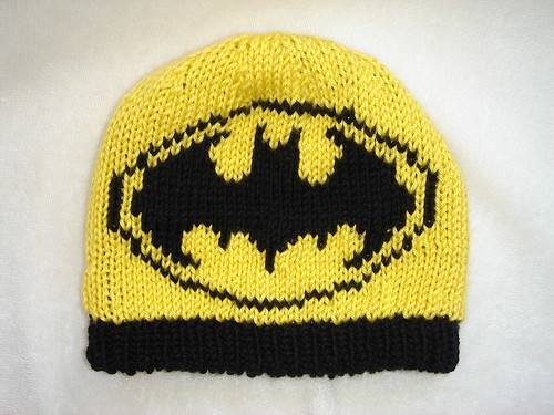 Batman Knitting Chart Pattern : Batman Knitting Pattern