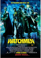 Poster Watchmen Alan Moore Zack Snyder Dave Gibbons