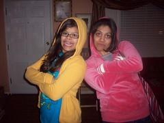 Me and Kaya being gangsters