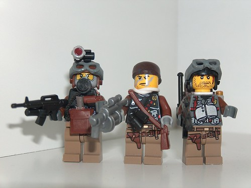 anti terror squad custom minifigs
