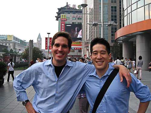 Jason and Eric in Beijing