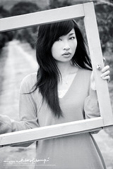 Eve (AehoHikaruki) Tags: life light portrait people blackandwhite bw cute girl beautiful fashion photo nice interesting asia evelyn sweet album great chinese taiwan olympus lazy taipei lovely   e1       aehohikaruki