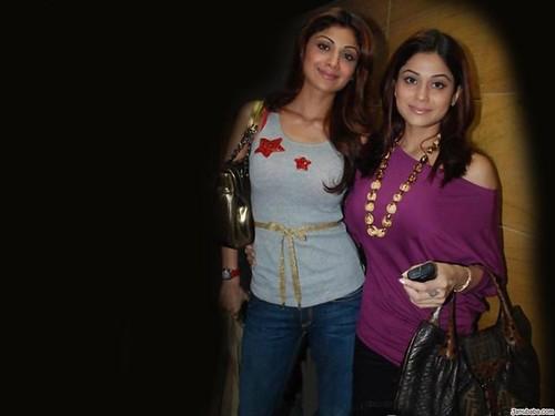Shamita Shetty - Shilpa Shetty