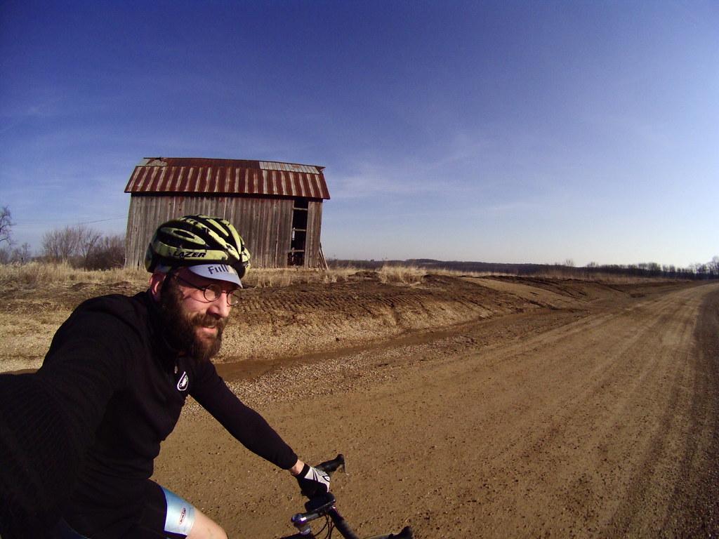 a barn!