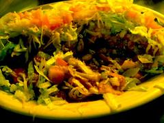 Albuquerque Trip - El Pinto (Kristin Brenemen) Tags: food kristin wyldkyss albuquerquenm newmexican movingtrip elpinto stuffedsopapilla