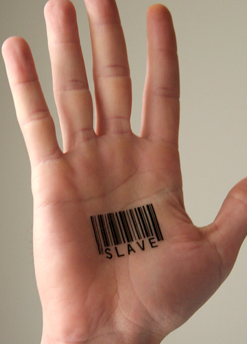 thinking about getting a barcode tattoo on the back of my neck. the numbers