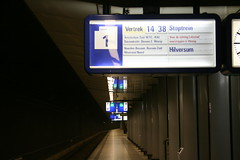 Amsterdam Airport Train Station (moaksey) Tags: time platform trainstation hilversum ams nexttrain