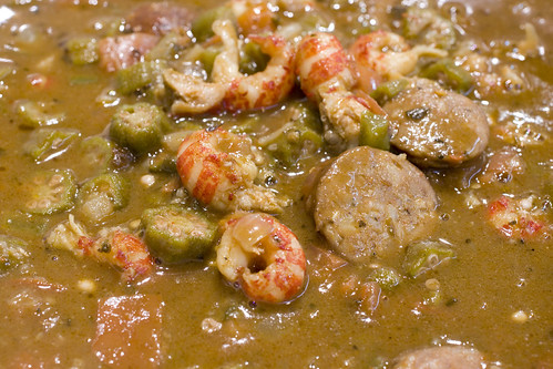 Crawfish Gumbo Close UP