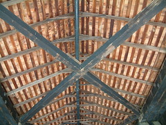 Covered Bridge Inside the Roof (whitebuffalobk) Tags: mill missouri coveredbridge burfordville bollingermill