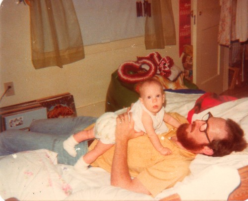 Baby Erica and Dad