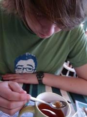 (lovebirds & seahorses) Tags: guy boyfriend him cafe tea spoon sugar norwich breakfasttea franksbar
