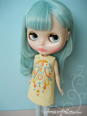 """Good Day Sunshine""  Blythe dress"