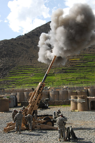 M-777 Howitzer Artillery Cannon