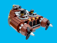 Bentley Sky Phantom (2 Much Caffeine) Tags: lego flyingcar steampunk moc flyingmachine
