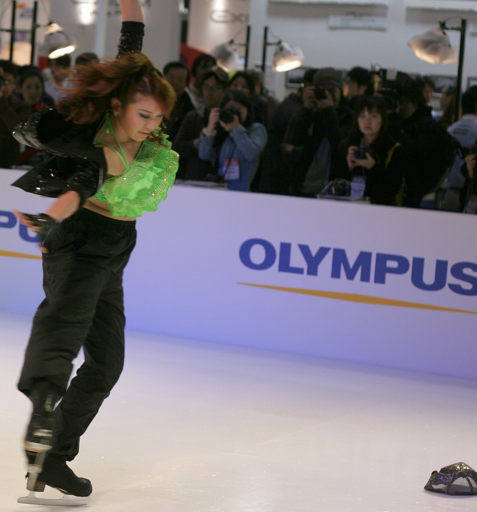 ice dance show @ olympus