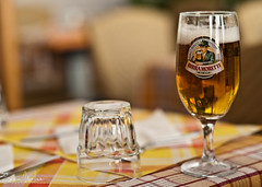 Italian Birra Moretti (Sean Molin Photography) Tags: city rome roma beer beautiful soldier italia european dof roman depthoffield epic gladiator moretti mediteranian beirra vacationeuropeitalyrome2009marchvacationitalli vacationeuropeitalyrome2009marchvacationitallian seanmolin wwwseanmolincom