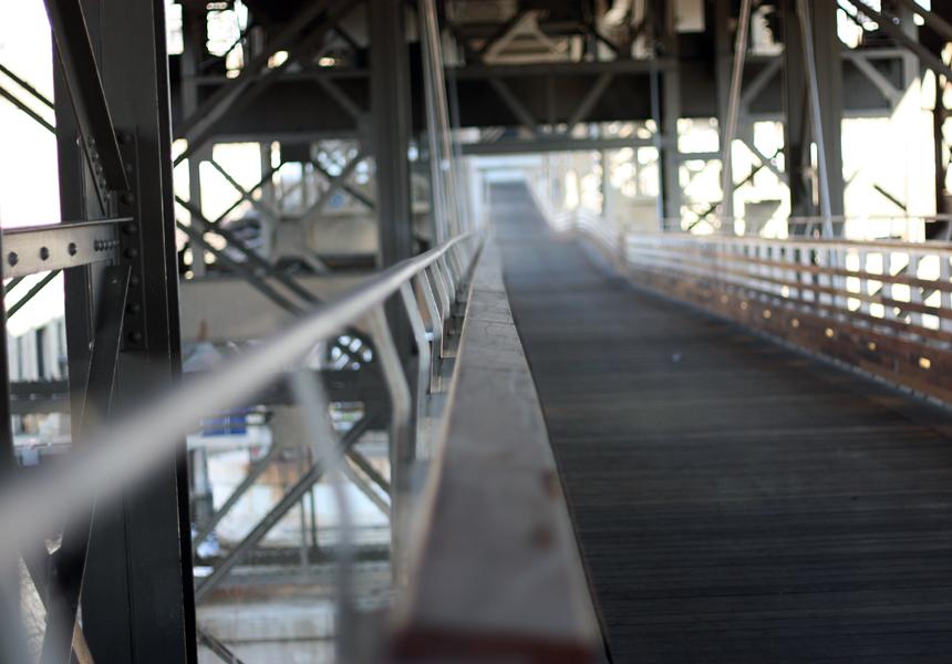 marsupial bridge with narrow DOF
