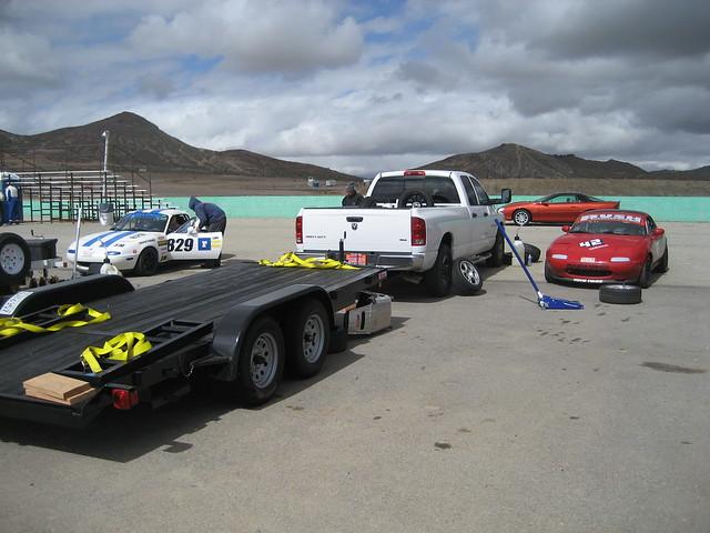 2005 diesel turbo willow springs dodge trailer ram miata spec cummins 2500 raceway