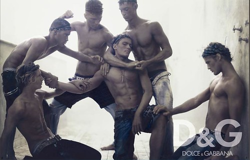 sexy fashion male models hot dolce&gabbana men