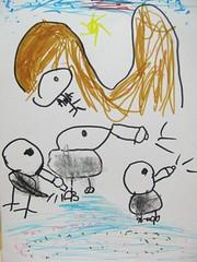 20090108-yoyo畫黑面琵鷺
