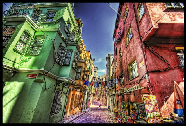 The Rainbow Street HDR