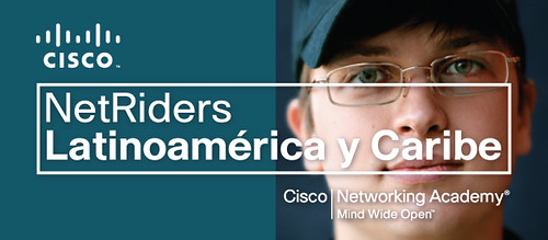 Cisco Networking Academy NetRiders 2009 Banner