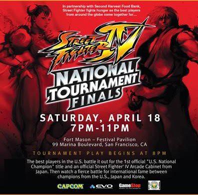 Street Fighter IV National Tournament Finals