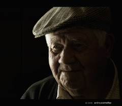 Narcs (acomellas) Tags: old light portrait man black grandfather avi elder abuelo aplusphoto