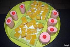 Fondants aux citrons et mousse de fraises Tagada (bentonjda) Tags: cuisine citron fraisetagada