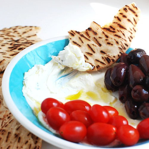 Traditional labneh.