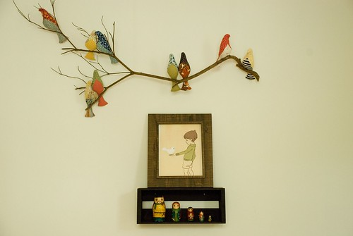 finn's room :: birds and matryoshkas