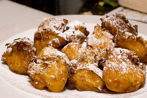Plated Beignets 2