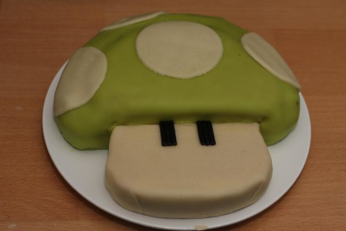 [20090313] Birthday - 1Up Cake