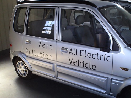 The Miles Electric Vehicle in Tulsa, Oklahoma