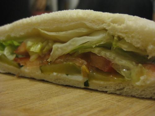 Une soirée sandwich quoi ...