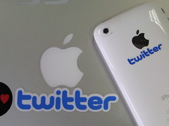 Twitter mini sticker