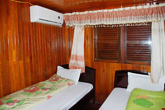Our room on the boat (Melinda ^..^) Tags: boat room vietnam mel melinda accommodation halongbay   chanmelmel